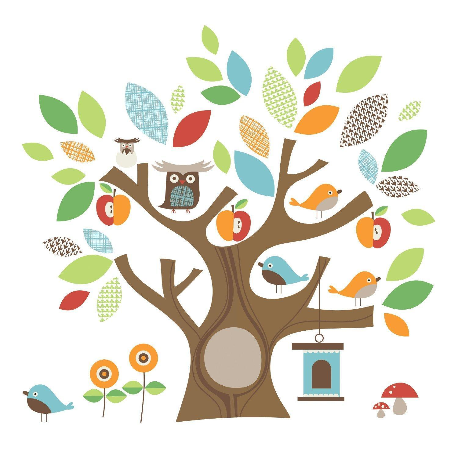 Childrens Tree Wall Stickers