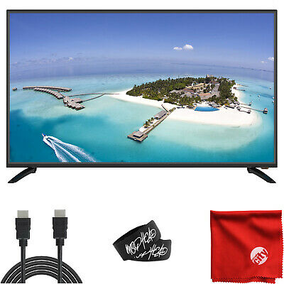 Sansui S43P28FN 43' 1080p FHD DLED Smart TV HDMI USB with Accessories
