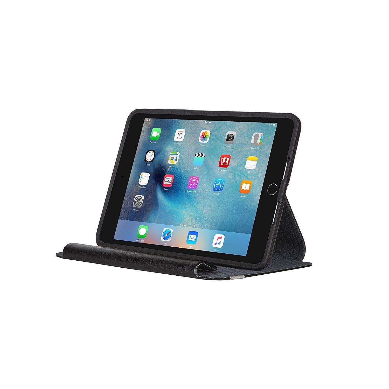 Ipad Mini Case - OtterBox SYMMETRY SERIES FOLIO Case for iPad Mini 4 (ONLY) BLACK NIGHT