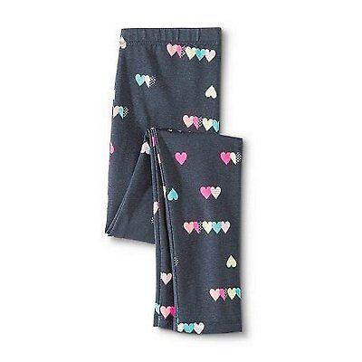 Circo Girls Colorful Hearts Gradual Gray Leggings - Size XXL (18 Plus)          ](Girls Heart Leggings)
