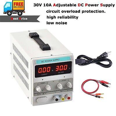300w Adjustable Dc Power Supply Variable Linear Dual Digital Precision Lab Test