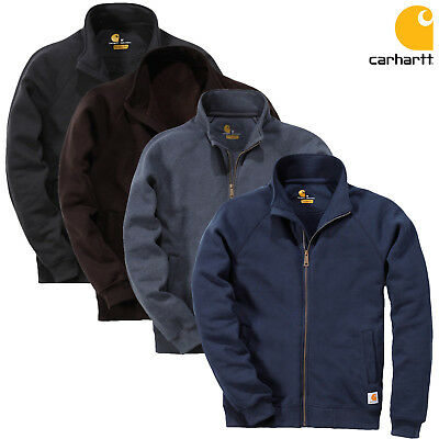 Carhartt Sweatshirt Midweight Mock Neck Zip Front Strickjacke Pullover | S-XXL - Mock Neck Sweater