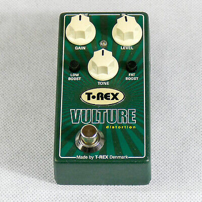 T-Rex Vulture Distortion Effects Pedal