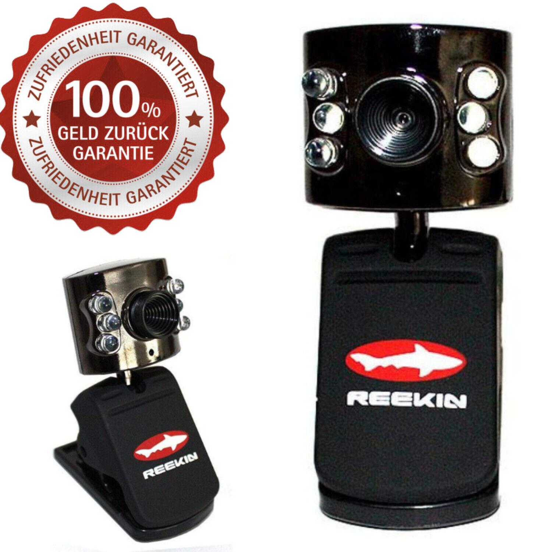 12 MegaPixel USB Webcam mit Mikrofon PC Notebook Kamera 6 LEDs Skype