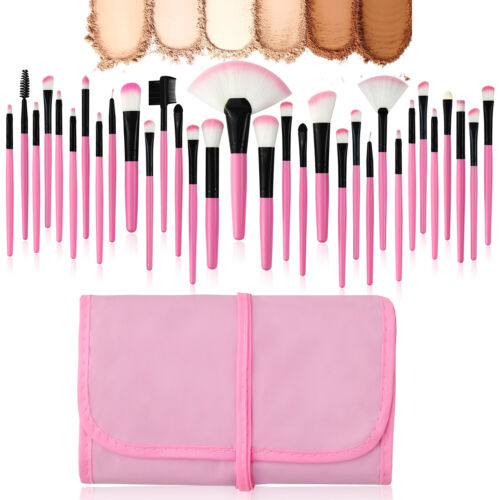 7~32Pcs Professional Makeup Brushes Set Eyeshadow Lip Powder Brush Cosmetic Tool 10