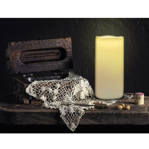 """3""""x6"""" Led Candles Battery Operated Flameless Flickering Electric Candles Decor"""