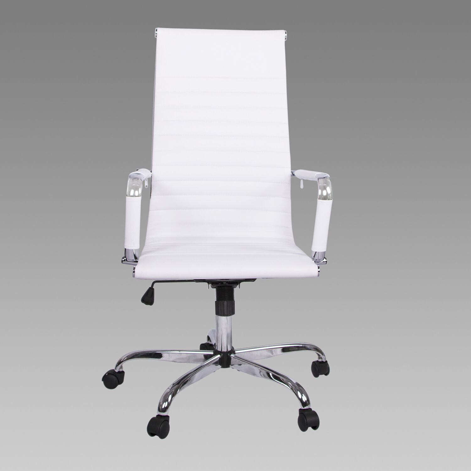 "PU Leather Executive Office Chair Ergonomic 26.5""  Computer Desk Seat High Back"