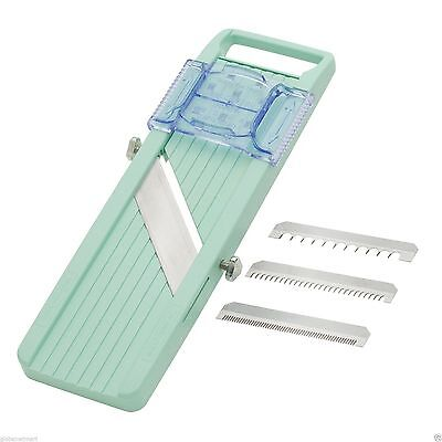"""FREE SHIPPING"" New Benriner Japanese Mandoline Slicer Green made in Japan"