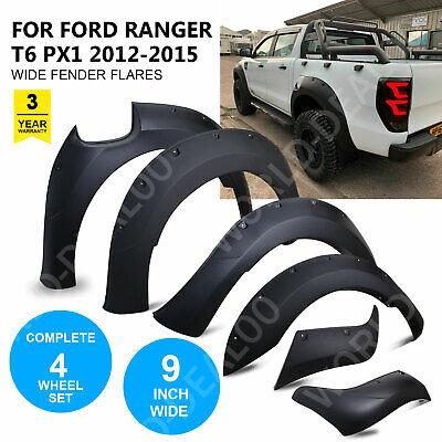Wide Arch Kit - Fender Flares/Wheel Arch for Ford Ranger T6 Raptor 2012-2015 UK