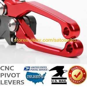 For Honda XR400R1996-2004 Pivot Clutch Brake Levers Set US 2003 2002 2001 2000