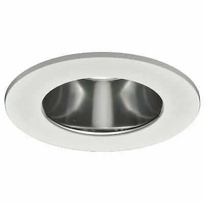 4 in. White Recessed Trim Lensed with Specular Clear Reflector TL410SC (Specular Clear Trim)