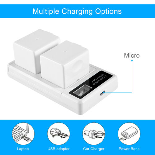 Extra Rechargeable Charger for Arlo, Pro, Pro2 Battery for Light Camera VMA4400