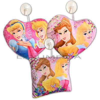 Aurora Kissen (Disney KISSEN 20cm Saugnapf Lizenz Prinzessin Cinderella Aurora Rapunzel Belle)