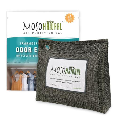 MOSO NATURAL 300g Stand Up Air Purifying Bag Deodorizer - Odor Eliminator