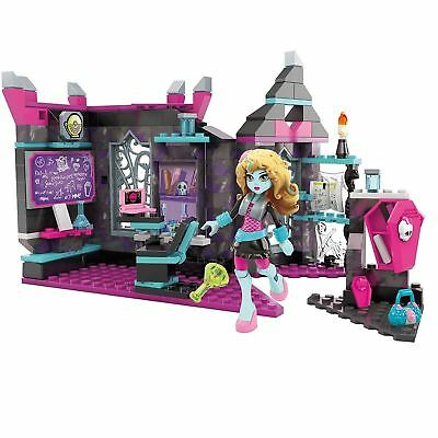 Mega Bloks Monster High Biteology Class 194 Piece Playset with Lagoona Doll Toy