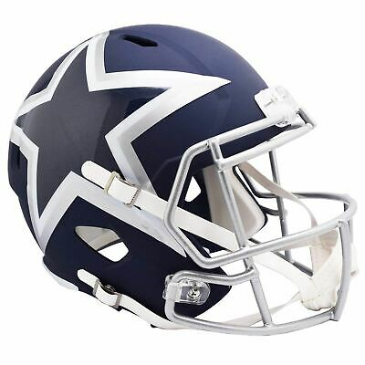 Dallas Cowboys Mini Football Helmet AMP Alternate Revolution Speed