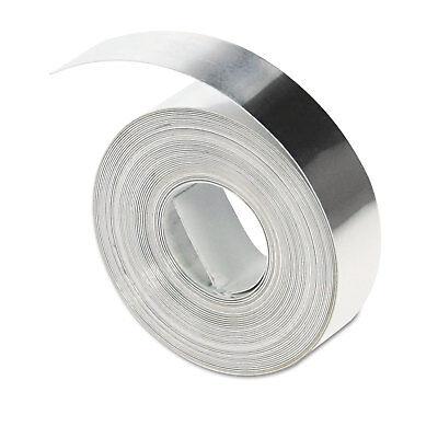 Dymo Rhino Metal Label Non-adhesive Tape 12 X 16 Ft. Aluminum 31000