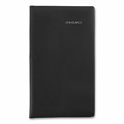 At-a-glance Weekly Pocket Planner 6 X 3.5 Black 2021