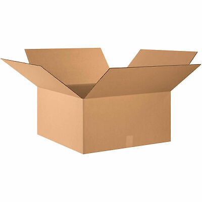 24 X 24 X 12 Cardboard Corrugated Boxes 65 Lbs Capacity 200ect-32 Lot Of