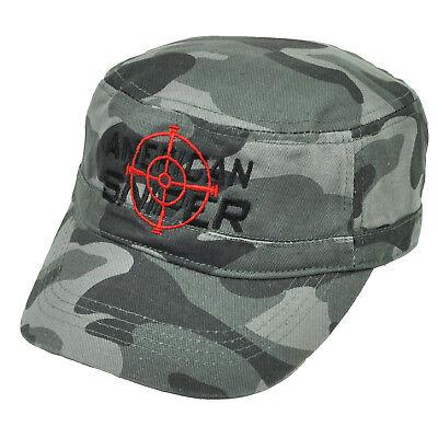American Sniper Cadet Müdigkeit Grau Tarnfarbe Hut Kappe - Grau Cadet Hut