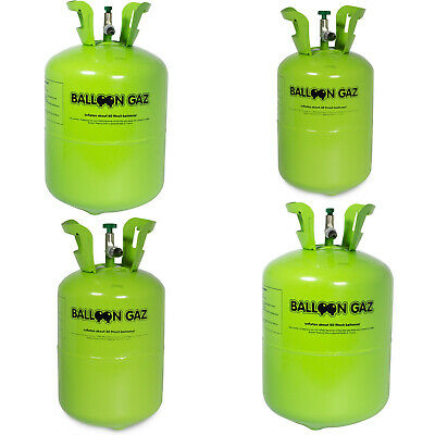 Helium Ballongas für 30 / 50 Ballons Luftballons Ø 23 cm Party Gas Heliumflasche