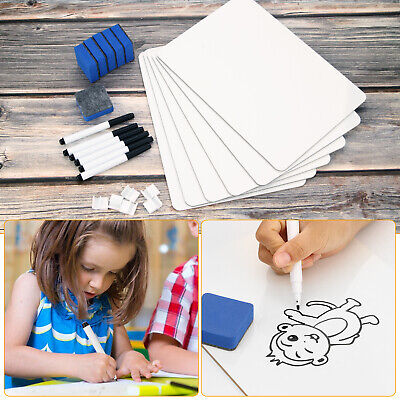 12x9 Whiteboard Kit Dry Erase Double Sided Writing Board School Home Office