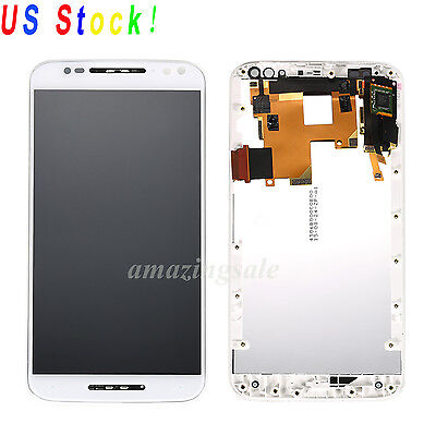 Version Lcd (LCD Touch Screen Digitizer Replacement Frame Motorola Moto X Pure Edition XT1575 )