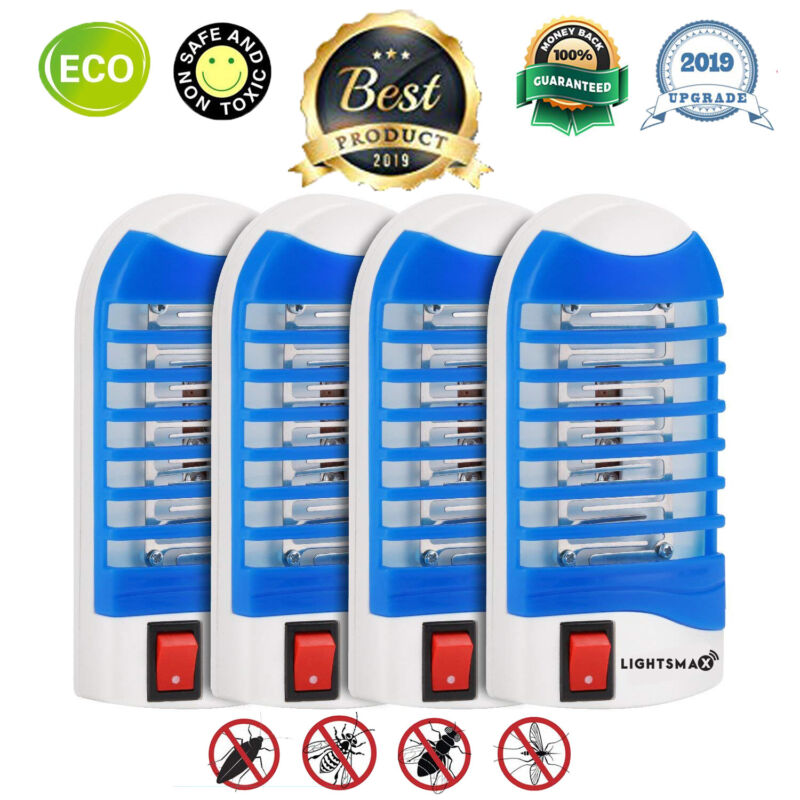 BUG ZAPPER MOSQUITO FLY MOTH ELECTRONIC PLUG IN INDOOR OUTDOOR