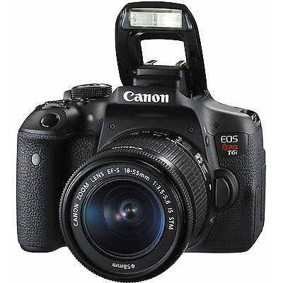 Canon Eos Rebel T6i   750D Dslr Camera Body W  18 55Mm Lens 0591C003 Sale