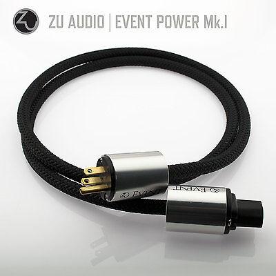 Zu Audio EVENT 5ft [1.5m] Premium Hi-Fi Power Cable (AC Mains)