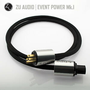 Zu Audio EVENT 6.6ft [2.0m] Premium Hi-Fi Power AC Mains Cable