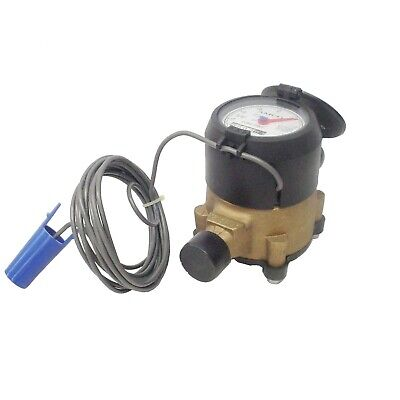 New Elster Amco Invision C700 Mqm15f44 58 Cubic Feet Water Meter Old Stock