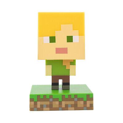 Dekolampe Minecraft Alex Dekolicht Nachtlicht Dekoleuchte Merch Mojang Game Skin