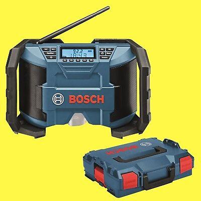 BOSCH Akku-Baustellenradio GPB 12V-10 Radio Solo in L-Boxx ehemals GML 10,8 V-LI