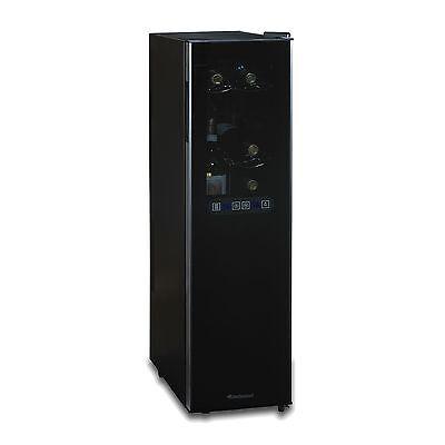 Wine Enthusiast Silent 18-Bottle Dual-Zone Slimline Wine Refrigerator NEW