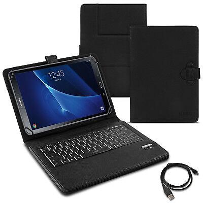 Tasche Keyboard Case für Samsung Galaxy Tab S2 S3 9.7 Tastatur Hülle Bluetooth (Bluetooth-tastatur Für Tab 3)