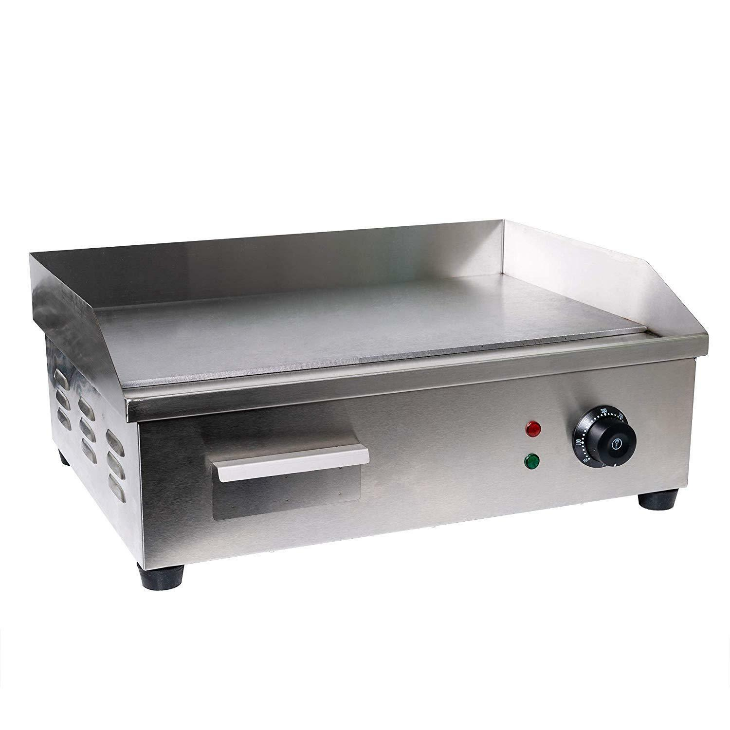 Electric Indoor Grill Counter top Griddle Steak Oven Adjusta