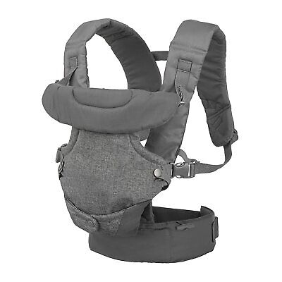 Infantino Flip 4-in-1 Convertible Baby Carrier, Gray