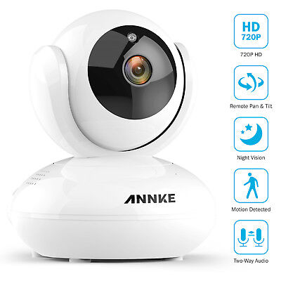 Funlux Camera CH-S1R-WA 720p HD Mini WiFi w/Two-Way Audio +