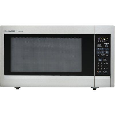 Sharp R651ZS 2.2 Cu. Ft. Full-Size 1200 Watt Microwave Stainless Steel