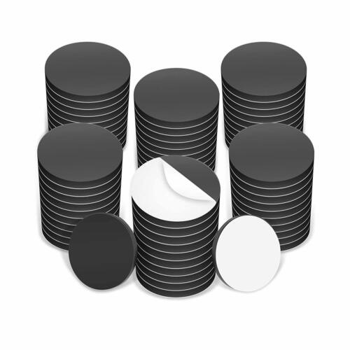 Round Magnet Discs With Adhesive Backing. Many sizes & pack quantities.