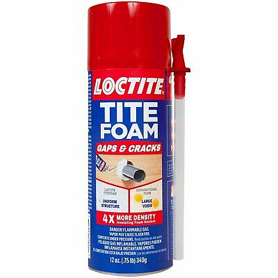 Loctite Titefoam Insulating Foam Sealant Case Of Eight 12 Ounce Cans...