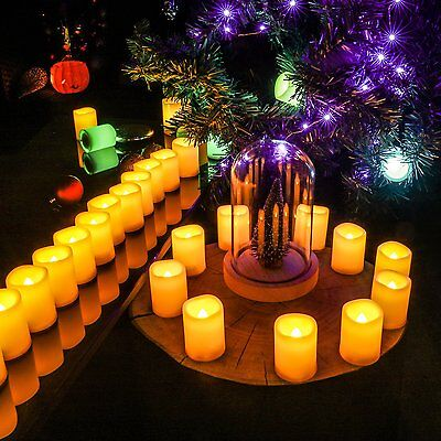 10 PACK - Everlasting Glow Flameless LED Indoor/Outdoor Candle With Timer ()