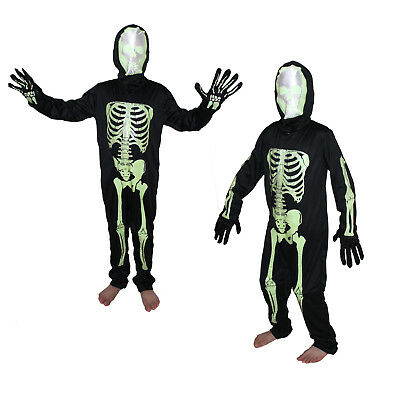 Skeleton Costume,For Kids costume,Halloween/cosplay/School functions,stage shows - Skeleton Costume For Child