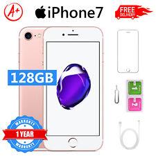 Smartphone Apple iPhone 7 128Go Or rose Débloqué Téléphone AA+ GARANTIE 12 MOIS