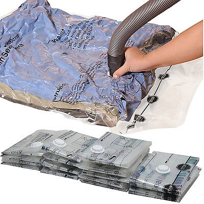 15 Vacuum Storage Space Bags Jumbo Large XL M Seal Bag Clothes Organizer Travel