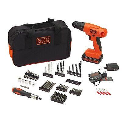 BLACK+DECKER 20V MAX Drill & Bit Set, 100 Piece