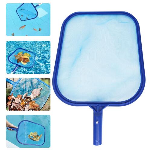 Swimming Pool Cleaning Net Leaf Skimmer Cleaner Rake Tool Shallow Bag Fine Mesh