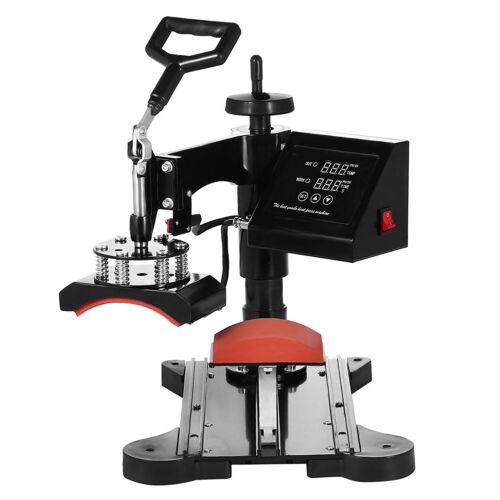 NEW 8 IN 1 HEAT PRESS MACHINE DIGITAL TRANSFER SUBLIMATION T-SHIRT MUG HAT 15