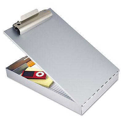 Saunders Redi-rite Aluminum Storage Clipboard 1 Clip Cap 8 12 X 12 Sheets